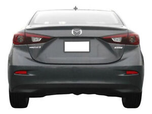 Painted Factory Style Lip Spoiler Fits The 2014 2015 2016 2017 Mazda 3