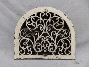 Antique Cast Iron Arch Top Dome Heat Grate Wall Register 11x13 185 17r