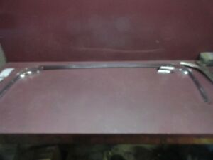 1958 1960 Ford Thunderbird T bird Exterior Upper Back Glass Garnish Molding Trim