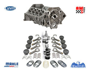 Unassembled Forged Short Block Kit Chevrolet 427 W Dart Block Mahle 10 1 Pist