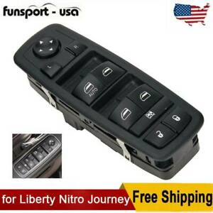 Fit For 2007 2012 Dodge Journey Left Side Power Window Lifter Master Switch