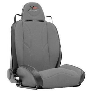 Xrc Passenger Front Racing Seat Gray For Jeep Cj Wrangler Yj Tj Jk 76 18 750111