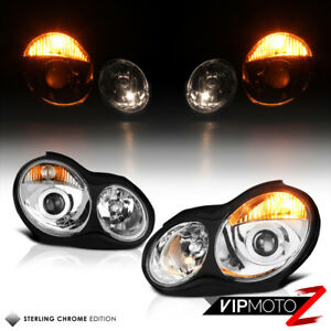 For 01 07 Mercedes Benz W203 C320 C32 Amg C230 Facelift Projector Headlight