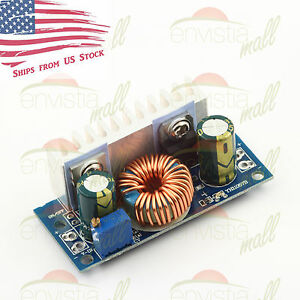 Dc dc Boost Step Up Converter 4 5 32v To 5 42v 5a Adjustable Power Supply Module