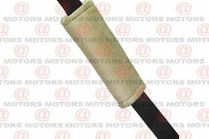 Seat Belt Pad Adds Comfort And Cushion To Shoulder Strap Majic Beige Color New