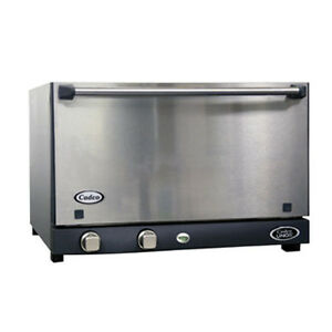 Cadco Ov 013ss Stainless Steel Convection Oven 3 Half size Pan Capacity