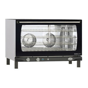 Cadco Xaf 193 Countertop Electric Convection Oven 4 Full Size Pan Capacity