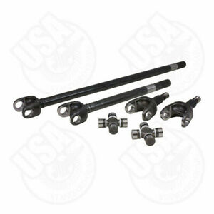 Usa Standard 4340 Chrome moly Replacement Axle Kit For 71 80 Scout Dana 44