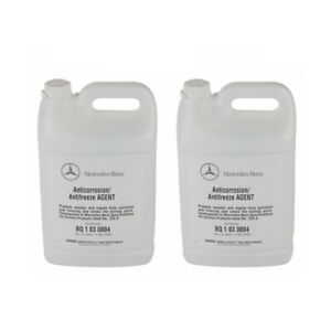 Mercedes Engine Coolant Antifreeze Blue 2 Gallons Oes Q1030004