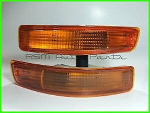 Toyota Corolla 93 97 Bumper Turn Signal Lamp For Jdm Version Front Bumper