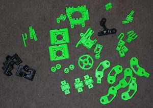 Natural Abs Reprap Prusa Mendel I2 3d Printer Plastic Printed Parts