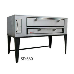Marsal Sd 1060 Gas Deck Type Pizza Oven