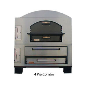 Marsal Mbc 1060 Gas Deck Type Pizza Oven
