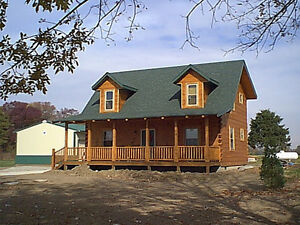 Hall Fork Log Cabin Home Kit Package