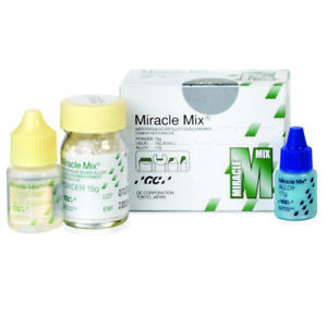 Gc Dental Miracle Mix Silver Reinforced Glass Ionomer Restorative Material