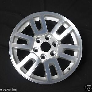 2007 2014 Ford Expedition Wheel Machined Silver Oem Factory Wheel Reman 3657