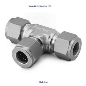 Swagelok Ss 1210 3 Union Tee 3 4 Tube Od 316ss Instrument Tube Fitting