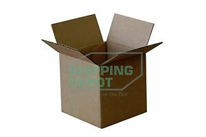 100 4x4x4 Cardboard Shipping Mailing Moving Packing Corrugated Boxes Cartons
