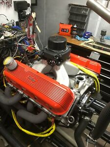 540ci Big Block Chevy Pro street Engine Efi 650hp Built to order Dyno Tuned