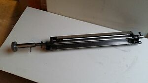 Blanket Cleaner Assembly With New Rubber Roller For Heidelberg Printmaster 46