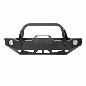 Src Carbine Front Bumper For Jeep Wrangler Jk 07 18 Black Textured Smittybilt