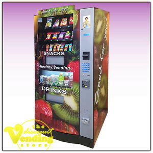 10 New Seaga Hy900 Healthy You Combo Vending Machines