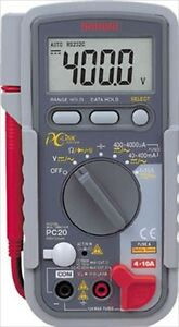Digital Multimeter Pc Connectable Type Pc20 Sanwa Made In Japan