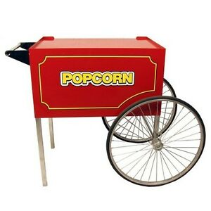 Paragon 3090030 Classic Pop Red Cart For 14 And 16 Oz Popcorn Popper Machines