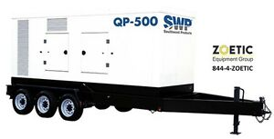 Southwest Products 500kva 400kw Quiet Power Qp 500 Portable Diesel Generator