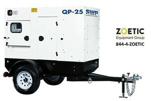 Southwest Products 25kva 20kw Quiet Power Qp 25 Portable Diesel Generator