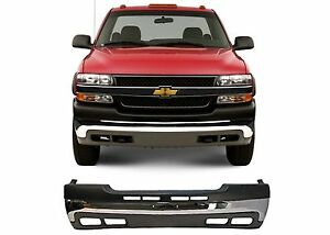 Replacement Front Bumper Combo For 1999 2002 Chevrolet Silverado 2500 New Usa