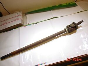 Abs Long Axle Shaft Jeep Dana 30 Front Right Side Pass Grand Cherokee 38 5
