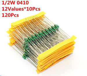 0410 1uh 1mh 12 Value 120pcs Dip Color Wheel Inductor Assorted Kit