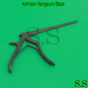 Kerrison Rongeurs Black Color 6 Shaft 3mm Bite Size 90 Up Angle