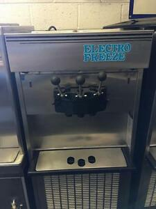 Electro Freeze 66tf 113 Ice Cream Machine 3 Head Twist 230 1ph Water Cooled