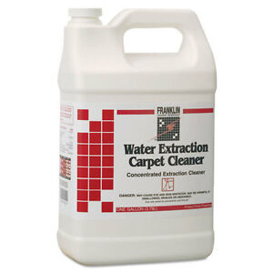 Water Extraction Carpet Cleaner Floral Scent Liquid 1 Gal Bottle