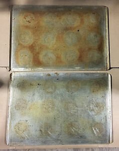 12 Perforated Baking Sheetpans Pans 18 X 26 Full Size Lip tr4020
