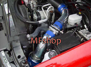 Blue For 1996 2004 Chevy S10 4 3l V6 Pickup Cold Air Intake System Kit Filter