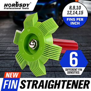 6 In1 Fin Comb Straightener Cleaner Automotive A C Radiator Evaporator Condenser