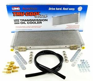 Tru cool Max Transmission Oil Cooler Long Heavy Duty W o Bypass Kit oc 4739 1