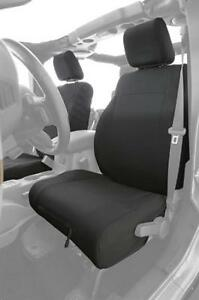 Gear Front Seat Cover Molle Black For Jeep Wrangler Tj 97 02 Smittybilt 56647001