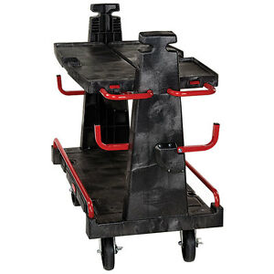 Rubbermaid 4465 Commercial A Frame Panel 2000lb Capacity Truck Cart Caddy Dolly