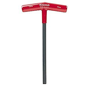 Bondhus 13310 Hex Wrench 3 16 T Handle With Cushioned Grip 5 6 Long