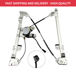 Front Passenger Side Power Window Regulator With Motor Fits Ford F 150 Crew Cab