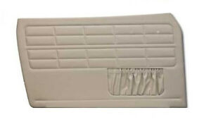 1956 1963 Vw Ghia Convertible Front Only Door Panels W Pockets Choose Color