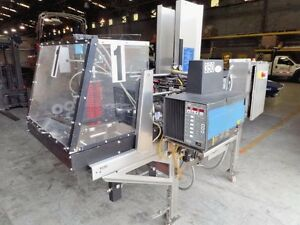 Hartness Tf 50 Automatic Tray Former W two Mandrel Grids