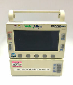 Welch Allyn Propaq Encore Patient Monitor 007 0086 00 With Option 3