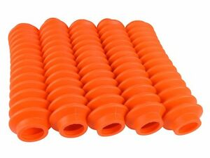 5 Orange Shock Boots Fits Most Shocks For Jeep Universal Off Road Vehicles