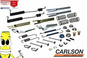 Complete Rear Brake Drum Hardware Kit For Chevy C1500 Truck 88 1999 10in Drums
