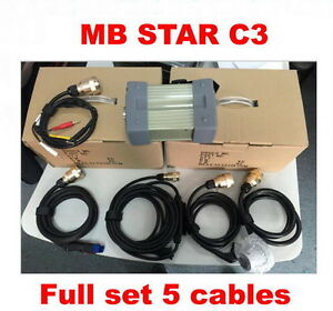 Diagnostic Car Connect Mb Star C3 Benz 5 Cable Pin Obd Ii Siemens Relays Japan